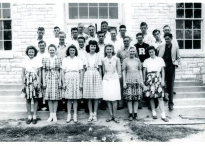 1943 Senior class