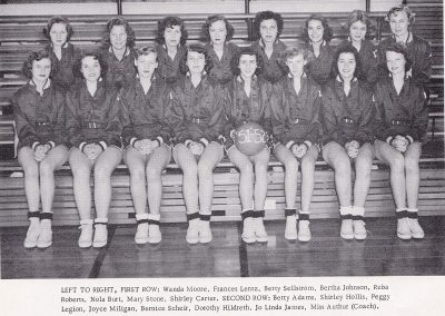 1951-52 Girls Basketball Team