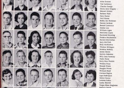 1951-52 7th Grade Class