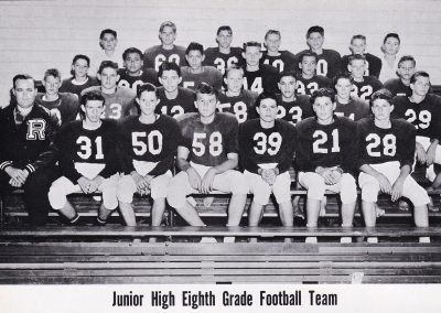 1962 8th Grade Football Team