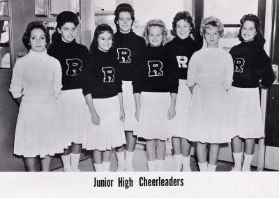 1962 Junior High Cheerleaders