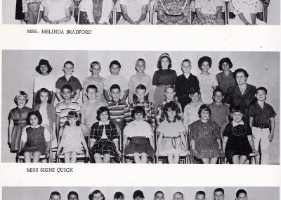 1965 4th Grade Classes