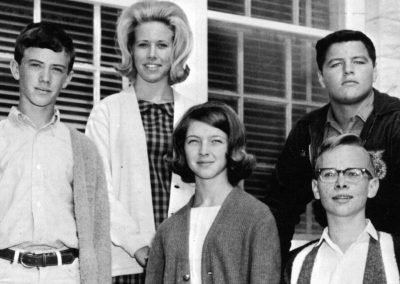 1966 Sophomore Class Officers