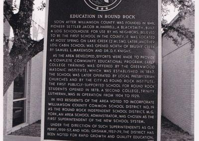 1981 Historical Marker