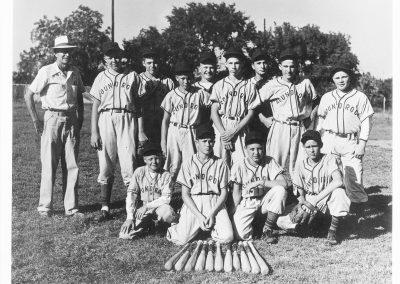 1950s Baseball Team