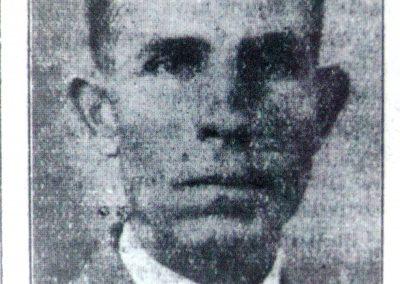 Newspaper quality photo of Superintendent C.O. Britt