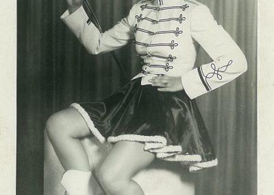 1950s Majorette