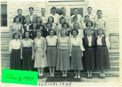 1949 Senior Class