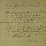 1914-10-14 Teachers allowed to attend some evening activities