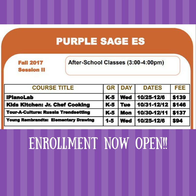 Community Ed Classes