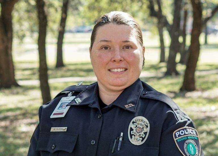 Officer Cleere headshot