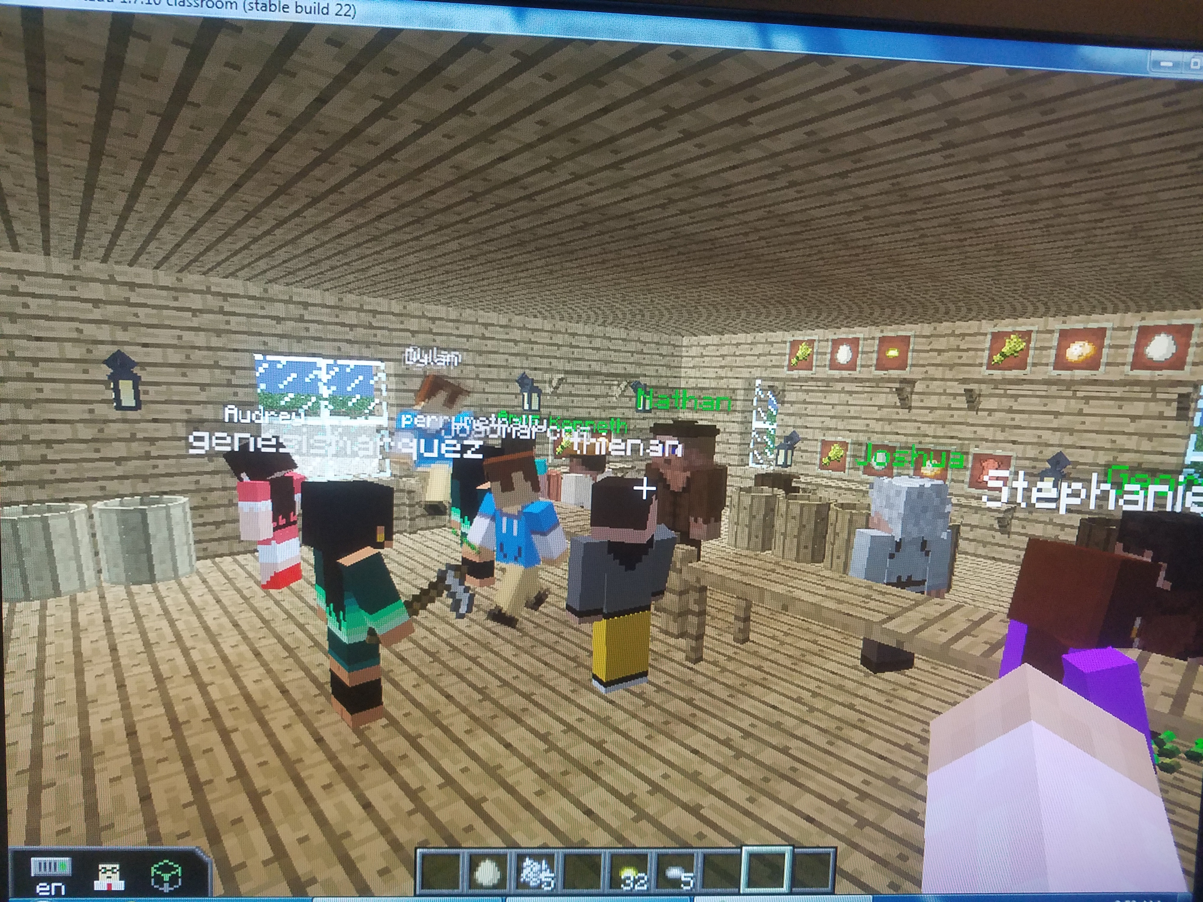 Empresarios meets Minecraft @ RMS