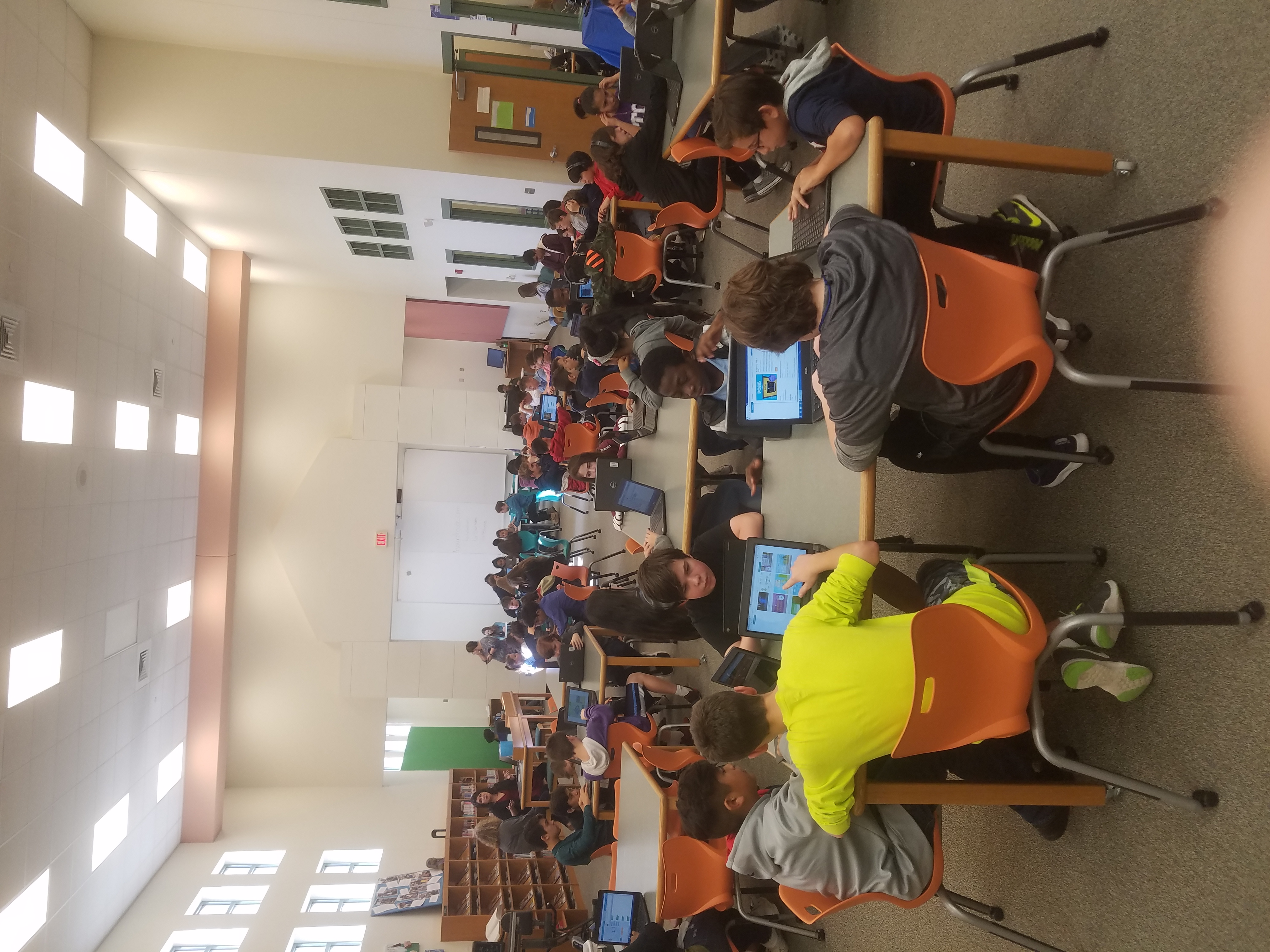 Hour of Code at RMS   Ridgeview Middle School
