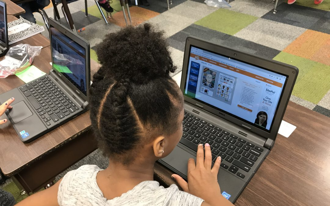 Describing Characters in a Story using Voki Avatars