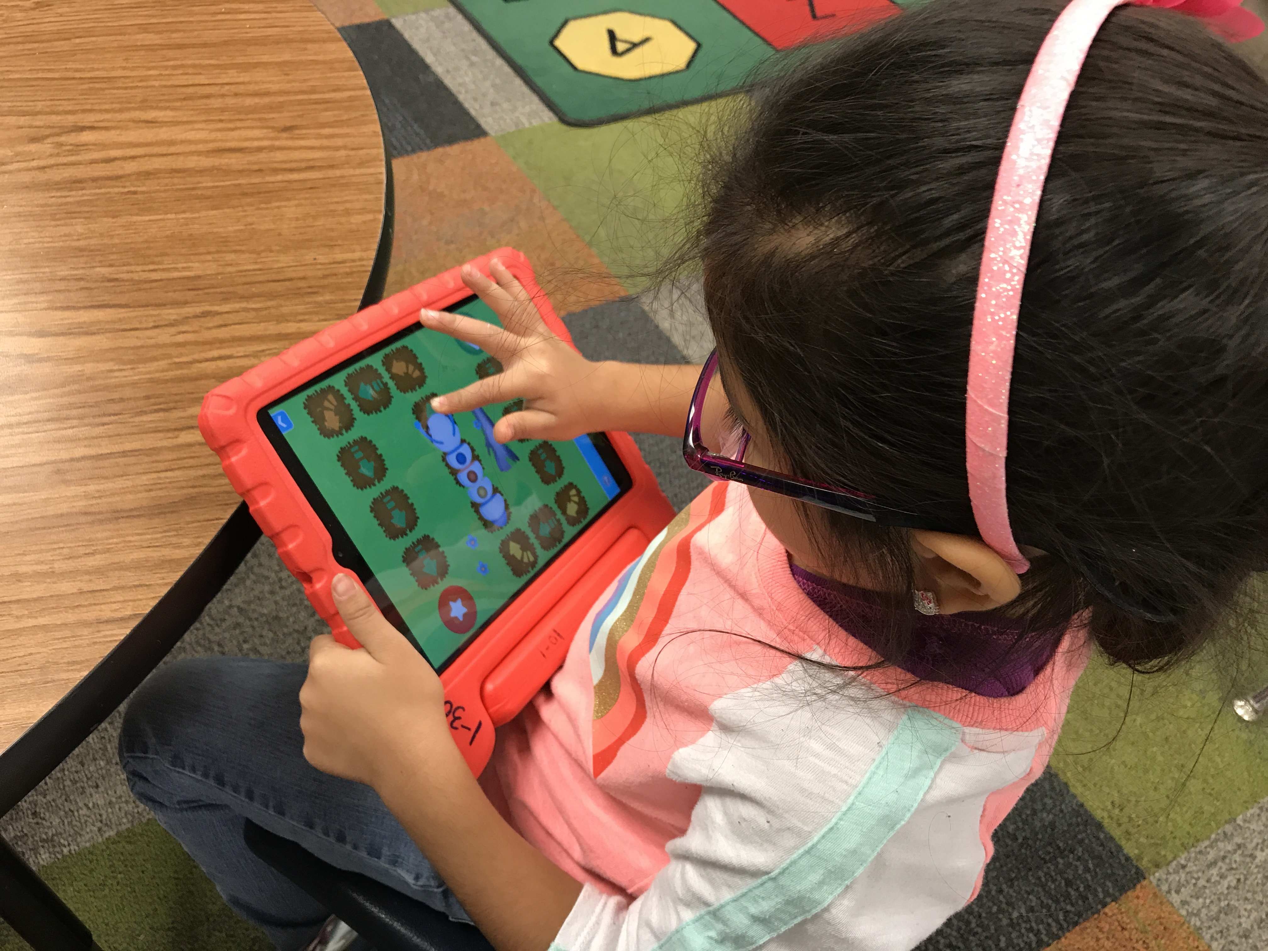 Hour of Code in Kinder