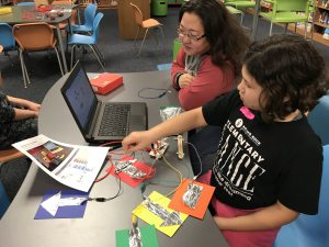 Makey Makey with Scratch using Arrow Cards