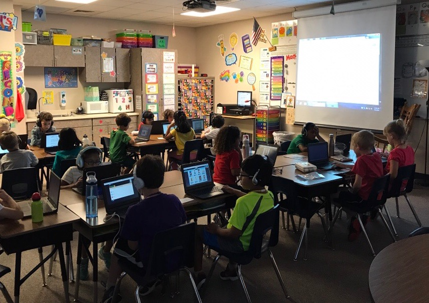 CRES 2nd Grade Teacher Shares Impact of Technology