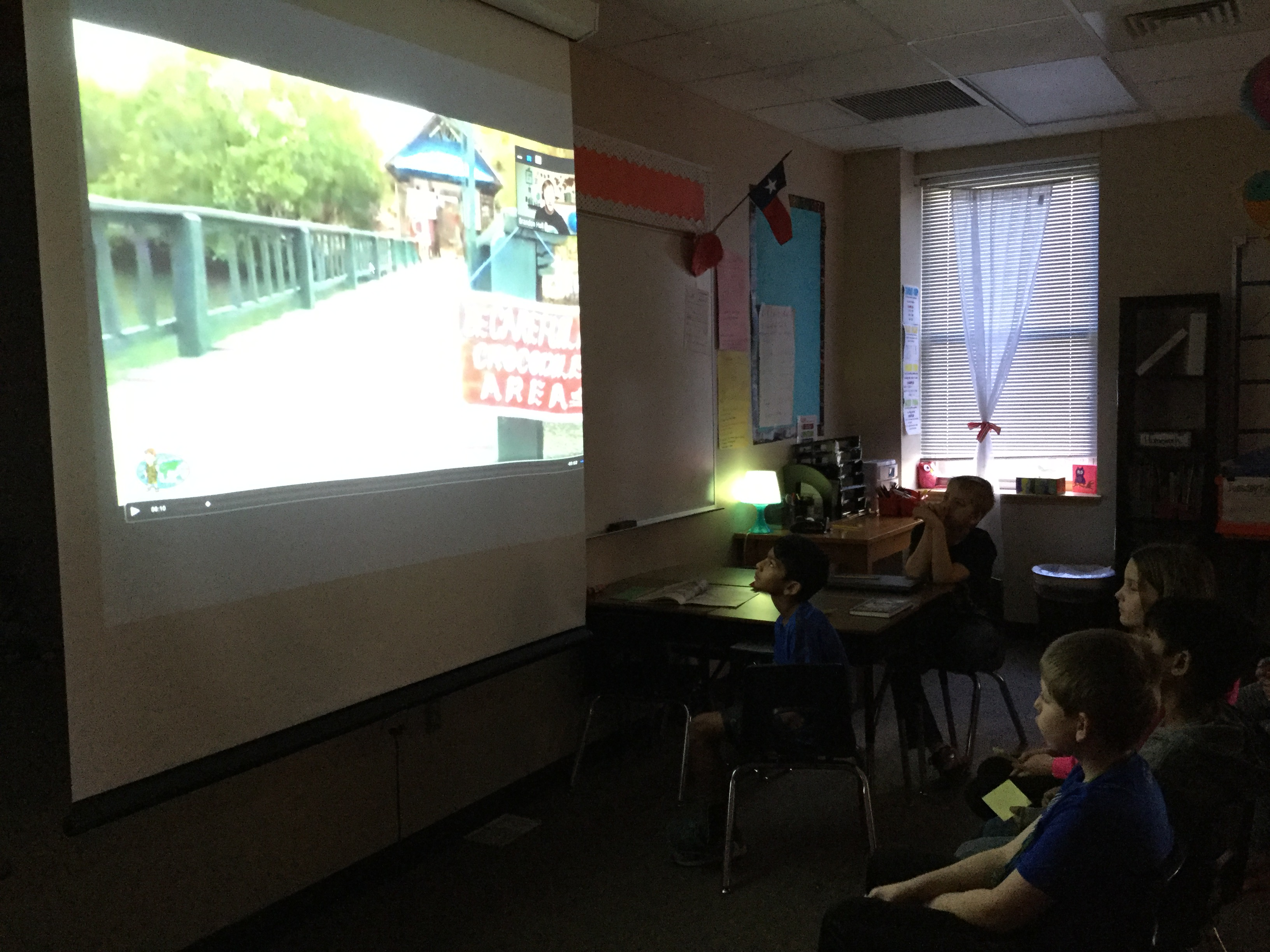 CRES Has A Virtual Field Trip with Ms. Nieto's Class!