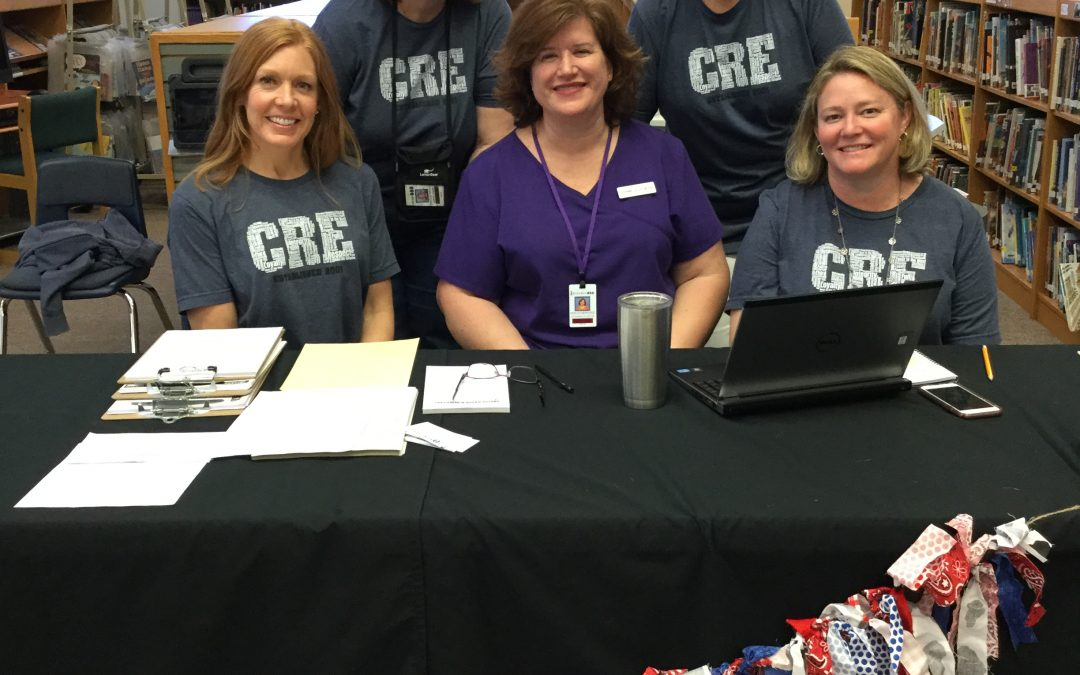 CRES Office Staff at Kinder Round Up!