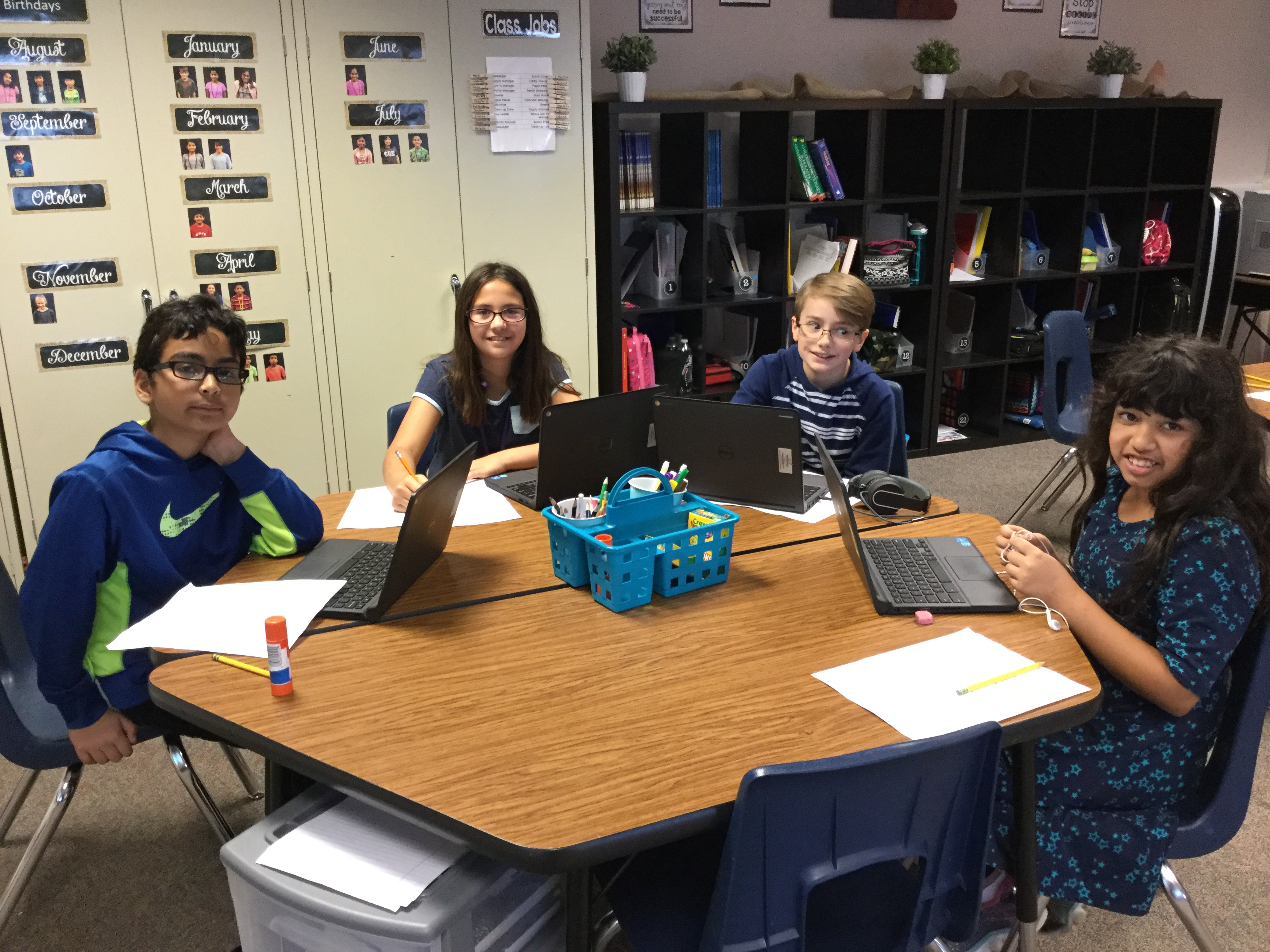 Ms. Warrens' Students Learn About Aquatic Ecosystems