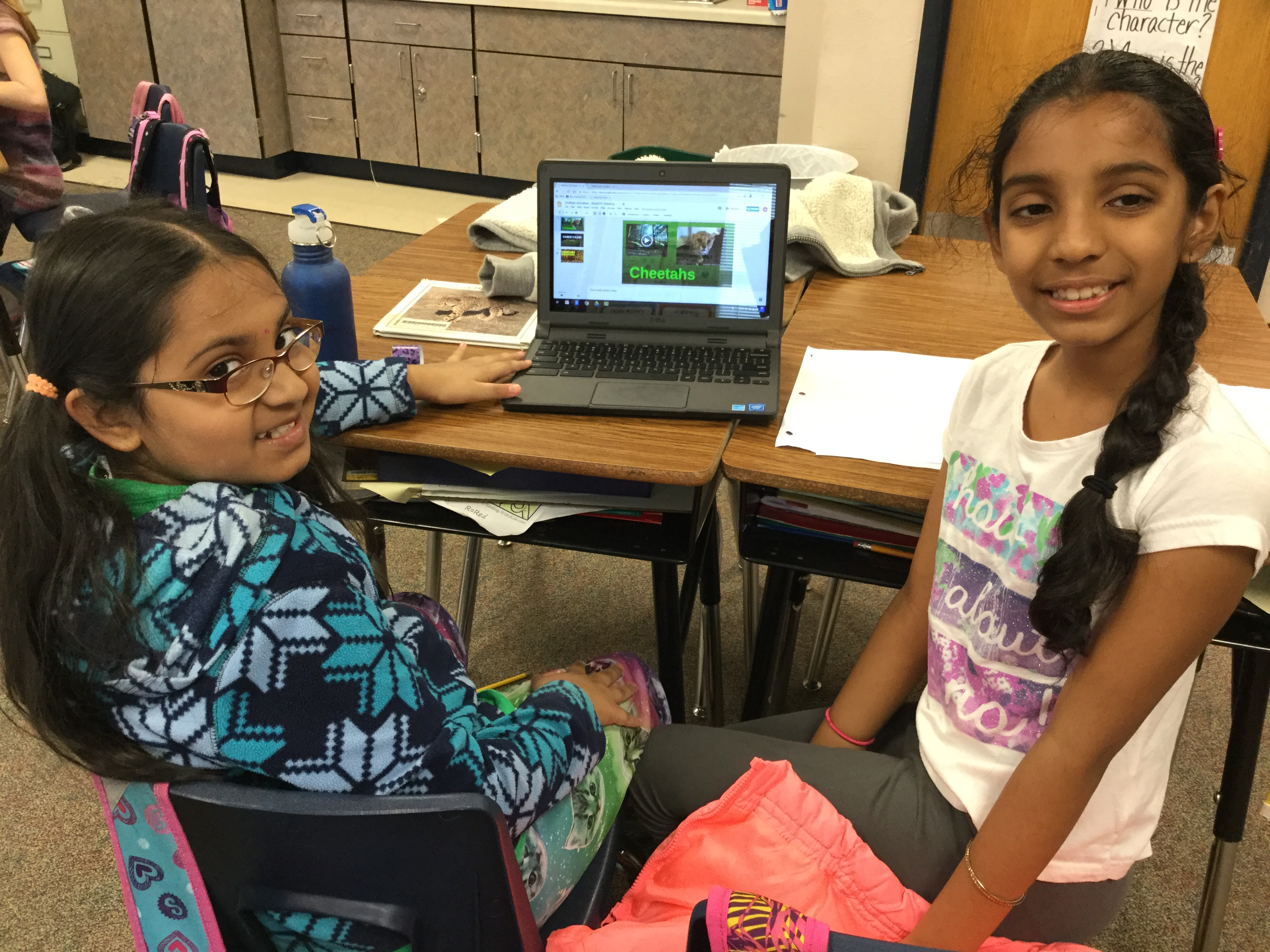 CRES Ms. Hemei's Class Researches Animals