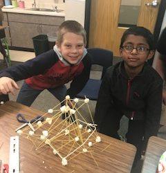 CRE Second Grade Spaghetti Towers!