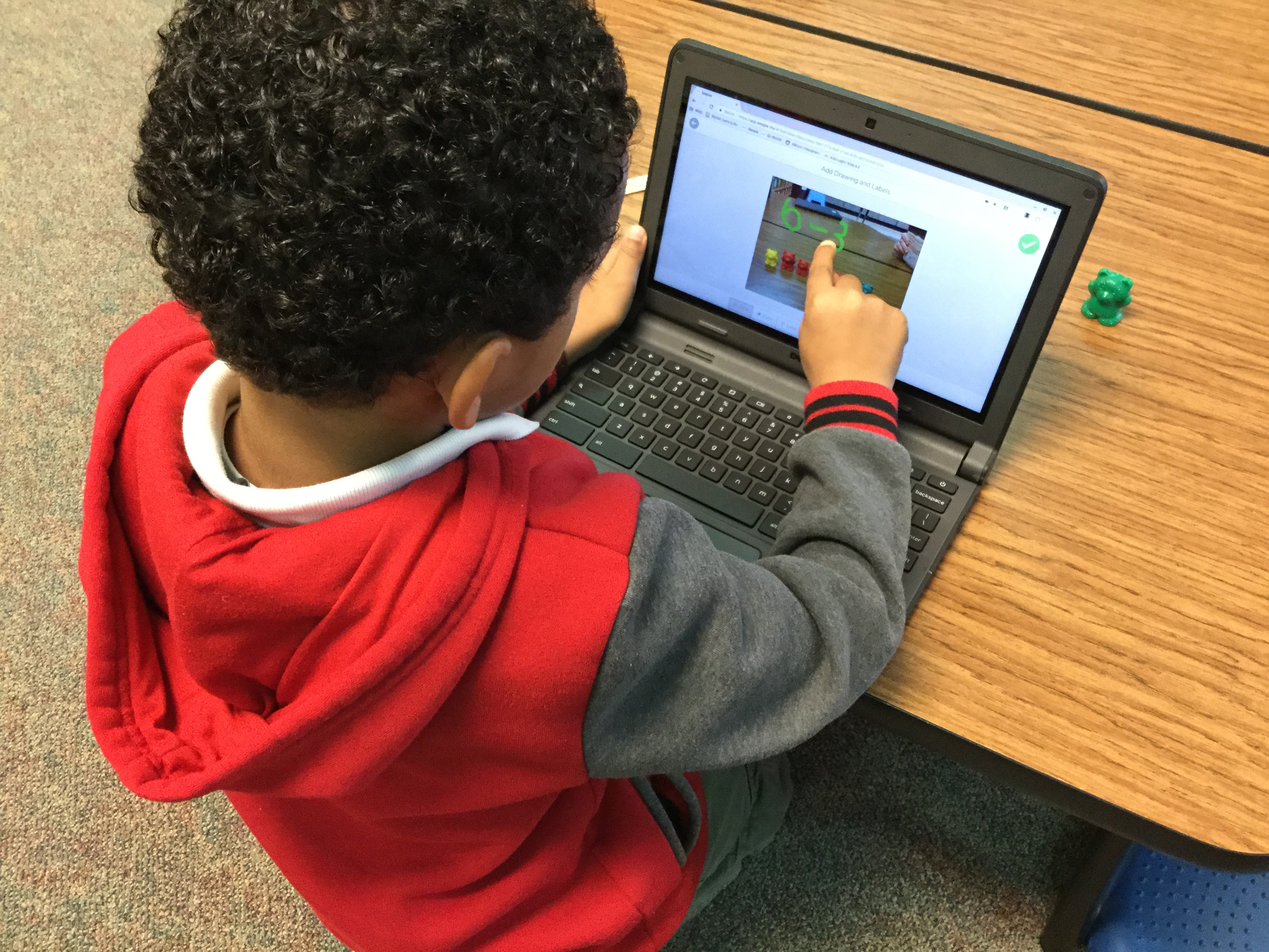 CRE Ms. Kyle Uses Seesaw For Math!