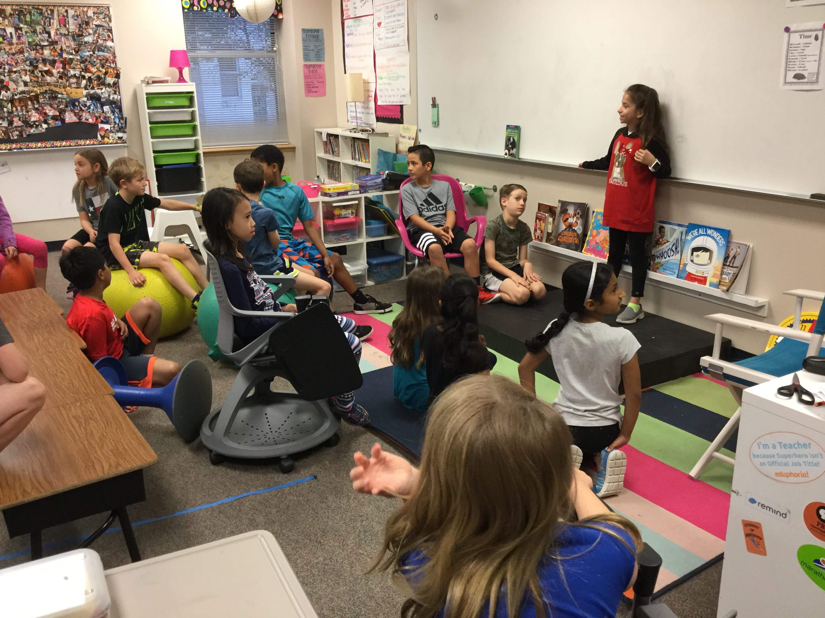Ms. Schulz's Third Grade Builds Community