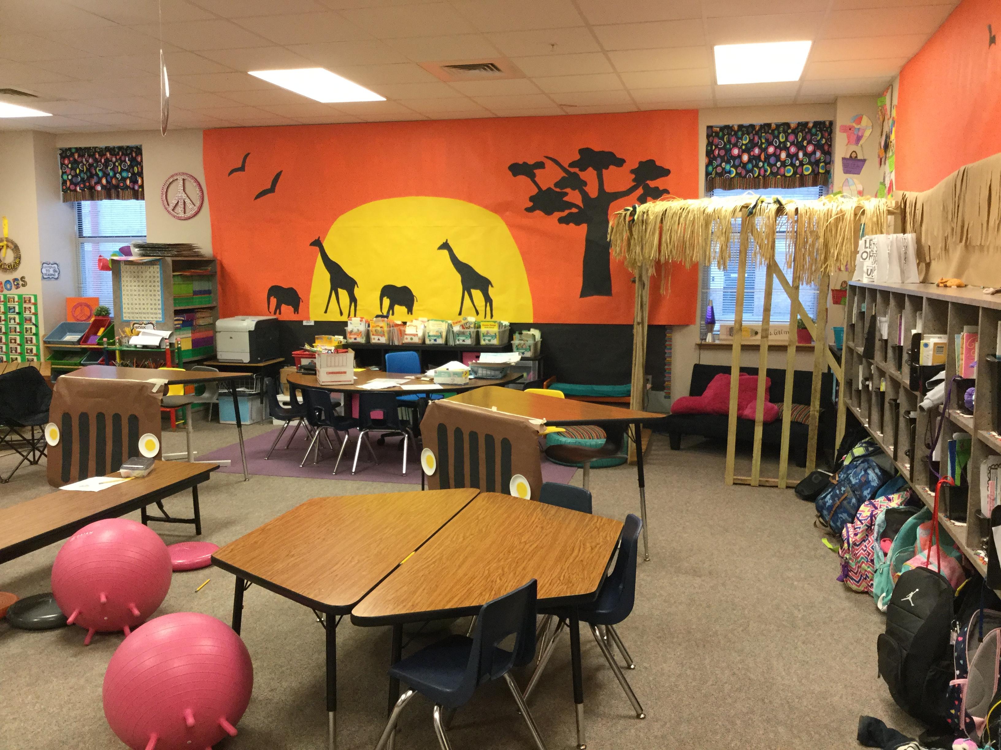 First Grade Transforms into Habitats!