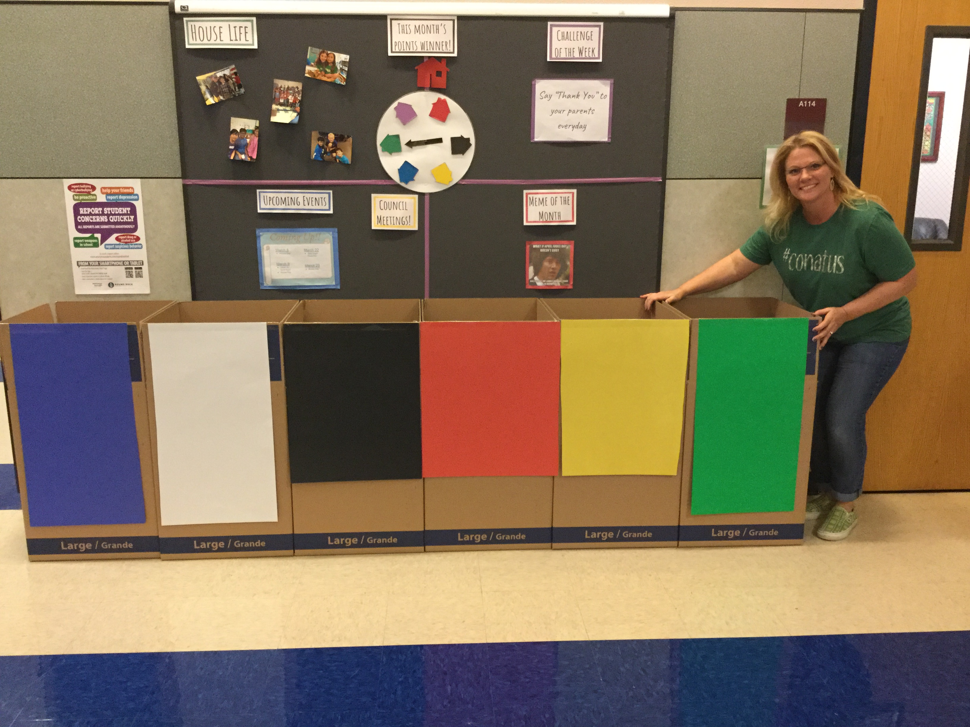 Food Drive House Competition Starts Today!
