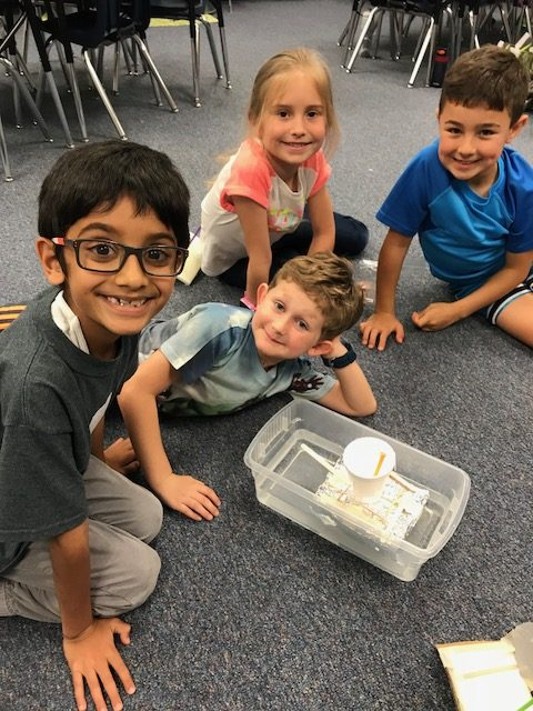 CRES McMullen's Class Builds Boats Through Level Up Village