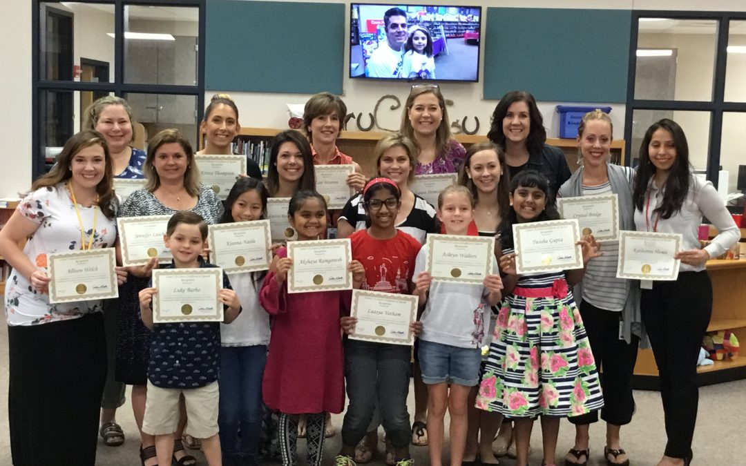Congressman Carter Recognizes Amazing Shake Students