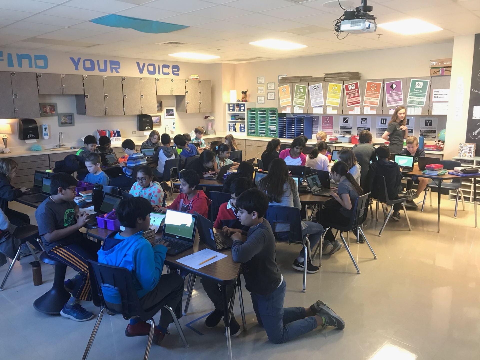 5th graders are using SketchUp