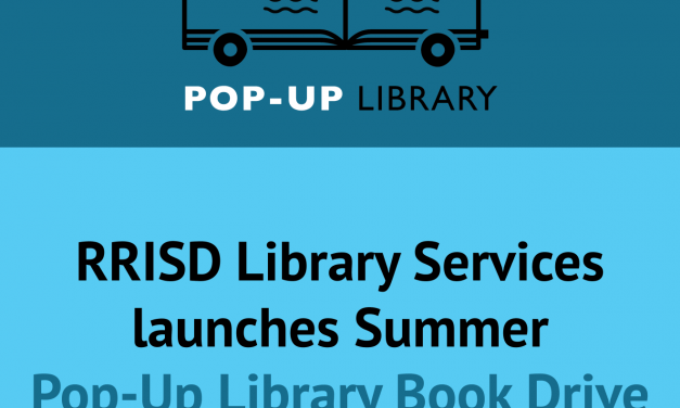 RRISD Library Services launches summer book drive