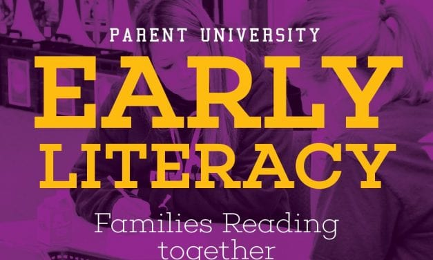 Parent University provide early literacy classes