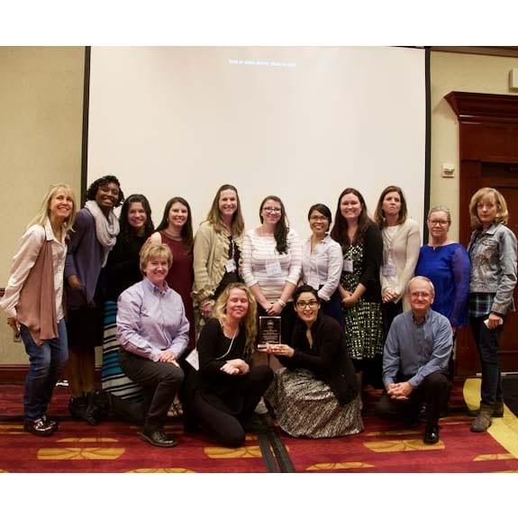 Capital Area RDSPD deaf educators recognized at 2017 Texas Symposium on DeafBlindess