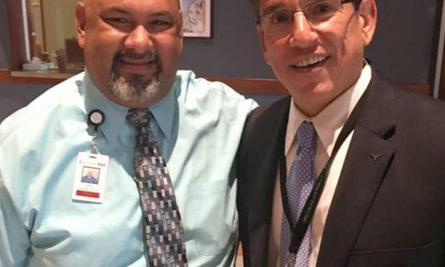 Telas named Superintendent's RRock Star for February