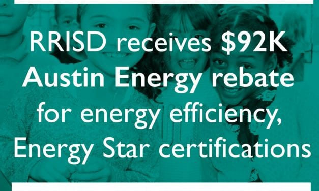 RRISD receives $92K Austin Energy rebate for energy efficiency, Energy Star certifications