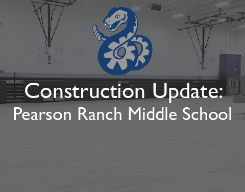 Construction Update: Pearson Ranch construction continues on schedule, furniture slated for July move-in