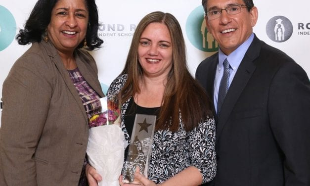 RRISD names Valerie Burleigh 2018 Secondary Teacher of the Year