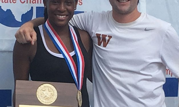 Westwood freshman student-athlete wins State Tennis Tournament