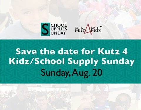 Round Rock ISD announces Aug 20. for annual School Supplies Sunday, Kutz 4 Kidz event