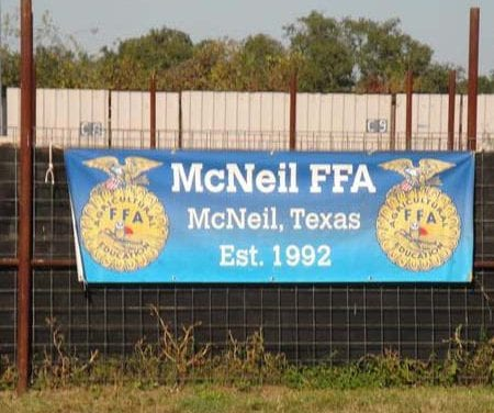 McNeil FFA Students Earn Record Number of Awards
