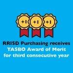 RRISD Purchasing receives TASBO Award of Merit for third consecutive year