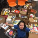 Grisham IB students collect 600 books for library in Uganda