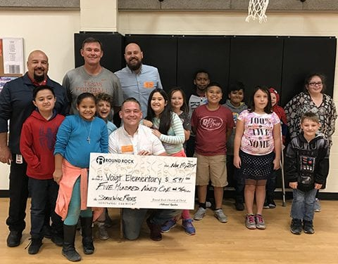 Partner Spotlight: Partnership between Voigt Elementary and Round Rock Church of Christ a match made in heaven