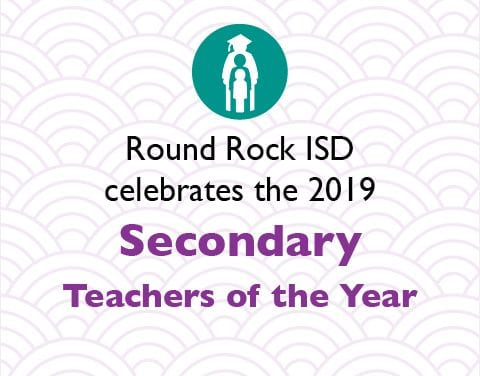 2019 Secondary Teachers of the Year