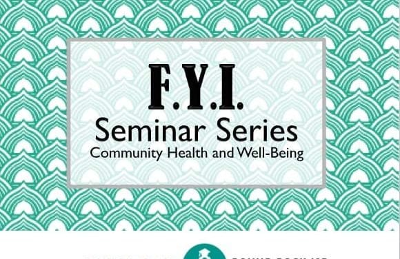 Counseling Services Offers Free Community Health and Well-Being Seminars