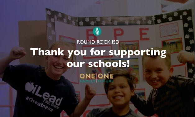 Superintendent's Message: Thank you Round Rock ISD community for supporting our schools!
