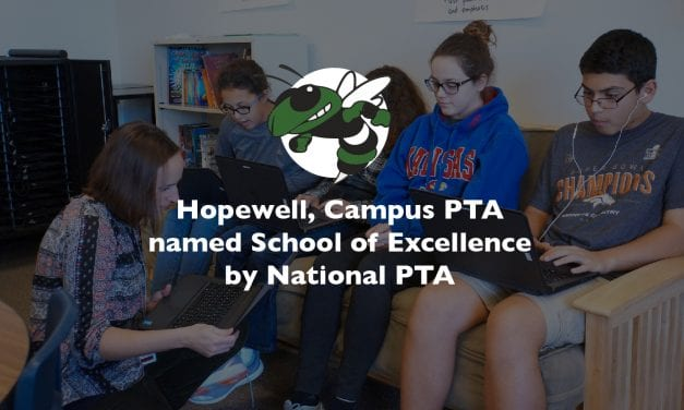Hopewell, Campus PTA named School of Excellence by National PTA